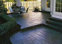 Concrete Backyard Large And Beautiful Photos Photo To Select - Concrete backyard design ideas