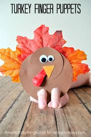how to make an adorable turkey finger puppet puppet crafts