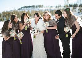 fur shawls for bridesmaids plum bridesmaid dresses and faux fur stoles