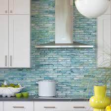 kitchen backsplash ideas with white cabinets houzz 75 beautiful coastal kitchen with glass tile backsplash