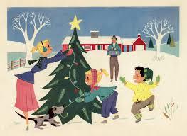 retro christmas cards free image retro trim the tree amybarickman