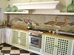 Mosaic Kitchen Tile Backsplash Ideas  BayTownKitchen - Mosaic kitchen tiles for backsplash