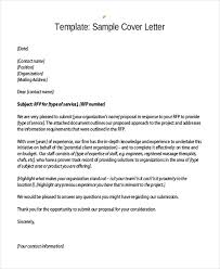 gallery of monster designs rfp cover letter rfp proposal cover