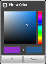 android color picker java android preferencescreen color picker implementation
