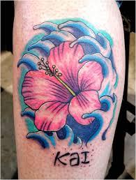 hawaiian flower tattoos flower meanings ideas