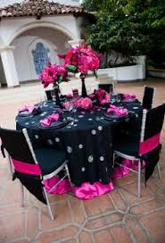 Party Tables Linens - black and white graduation ideas black and white grad parties
