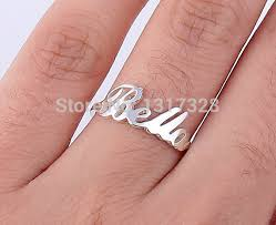 name rings com images Personalized name ring 925 sterling silver fine jewelry custom jpg