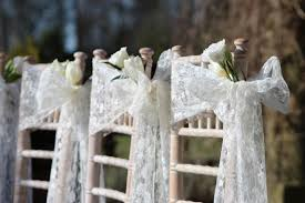 Wedding Chair Sashes Kirkley Hall Wedding In Northumberland With Lace Chair