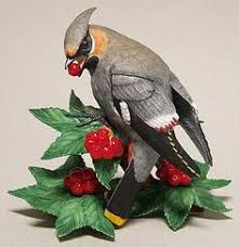 lenox china garden birds plum headed parakeet figurine without box