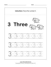 ideas about printable number tracing worksheets for kindergarten