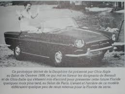 1958 renault dauphine le cabriolet alpine où la volonté d u0027un homme