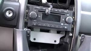 chrysler 300 dash bezel removal and center console removal youtube