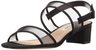 Amazon Com Nina Women U0027s Ganice Dress Sandal Heeled Sandals