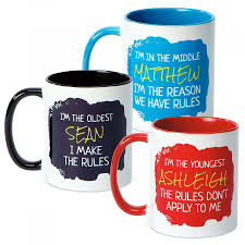 oldest child personalized mug current catalog