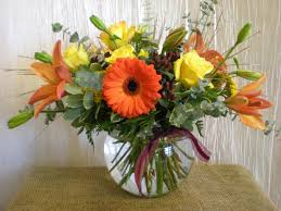 decorating ideas fantastic picture of orange flower thanksgiving