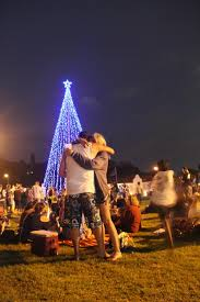 icymi the highway hospice tree of light switch on at park