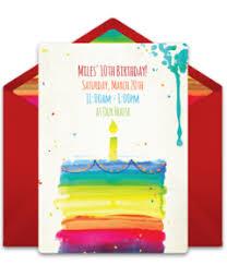 girl birthday free girl birthday party online invitations punchbowl