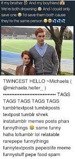 Michaela Meme - 25 best memes about twincest twincest memes