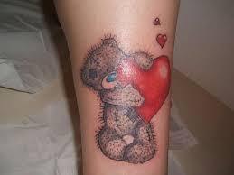teddy bear tattoo tattoo ideas pickers