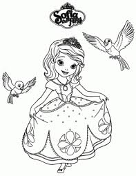 20 free printable disney princess anna coloring pages