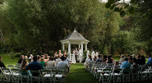 outdoor wedding venues oregon outdoor wedding venue in ashland lithia springs resort