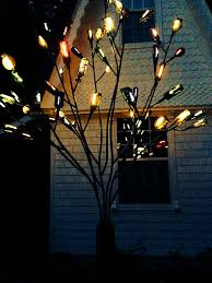 Decorative Trees With Lights Led Strip Lights Light Up A Glass Bottle Tree