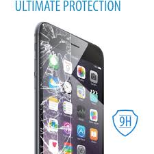Iphone Home Button Decoration Iphone 6 Plus V7 Shatter Proof Tempered Glass Screen Protector