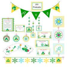 frog birthday party decorations diy printable