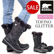 sorel tofino womens boots size 9 ripe rakuten global market sorel tofino glitter black soler