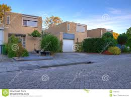 modern house exterior stock photo image 41902500