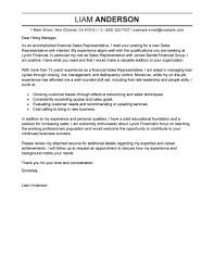 Legal Representation Letter Template by Best Sales Representative Cover Letter Examples Livecareer