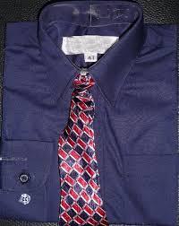 navy blue dress shirt