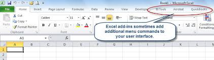 managing excel add ins accountingweb