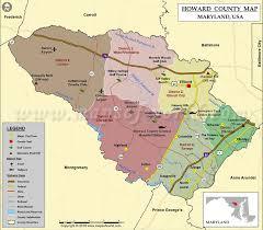 maryland map free howard county map maryland