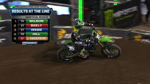 2014 ama motocross results dean wilson wins anaheim iii 2014 250 west supercross youtube