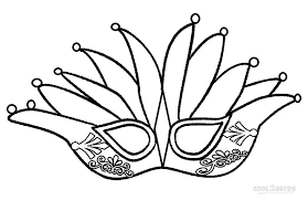 mardi gras crown printable mardi gras coloring pages for kids cool2bkids