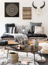 Skull Area Rug Living Room Animal Skul Black Rattan Chair Frame Low Hardwood