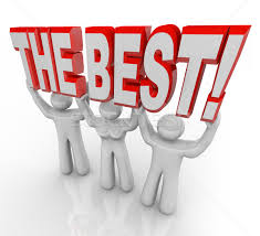 the best the best team lifting words top winners celebrate stock photo