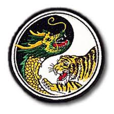 tiger yin yang patch tiger patches kung fu