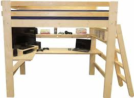 loft bed for kids youth teen college adults made in usa
