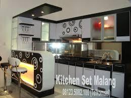kitchen set minimalis modern kitchen set mini bar malang furniture furniture minimalis
