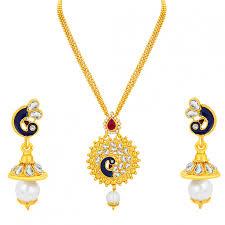 pendant necklace online images Pendants for women girls buy designer pendant sets jewellery jpg