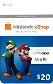 target scam 2017 black friday wii u amazon com nintendo prepaid eshop 20 for 3ds or wii u video games