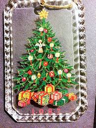 avon ornament vintage ornaments tree avon