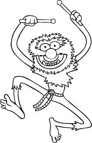 famous animal muppets coloring pages bulk color