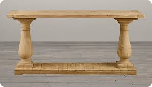 salvaged wood console table balustrade console table i want to make something similar out of