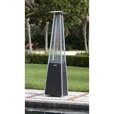 Garden Radiance Patio Heater by Fire Sense Coronado Pyramid Flame 40 000 Btu Propane Patio Heater
