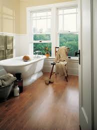 How To Care For A Laminate Floor Choosing Bathroom Flooring Hgtv