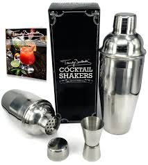 cocktail set premium cocktail shaker set by trendy bartender set of two