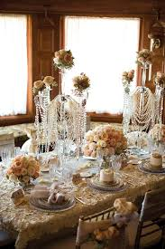 the jazz age great gatsby inspired wedding decor bridal and